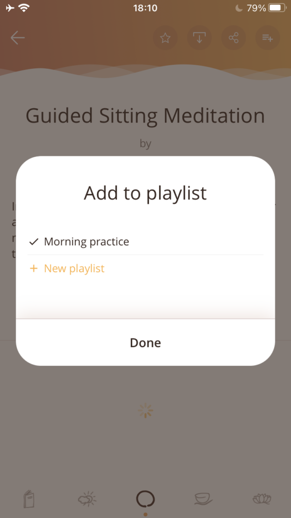 When you add to a playlist, you can select which playlist to add to (or create a new one).